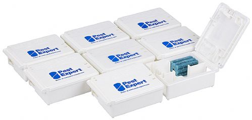 Pest Expert Mouse Bait Boxes (Pack of 8)